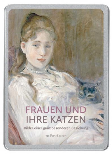 Frauen und ihre Katzen - Postkartenbuch