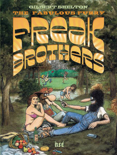 Freak Brothers. Graphic Novel.