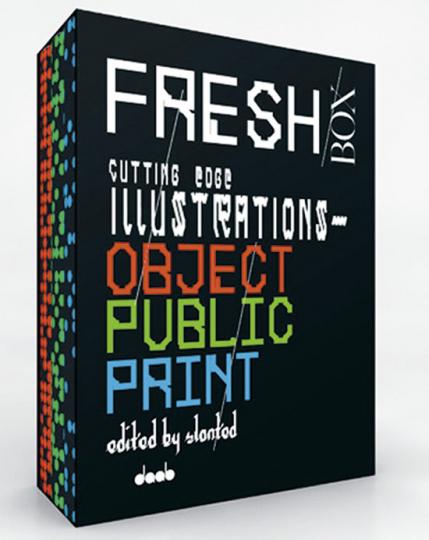 Fresh Box. Cutting Edge Illustrations.