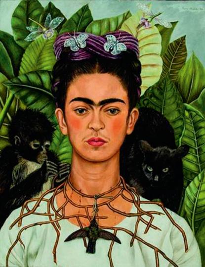 Frida Kahlo's Garden.