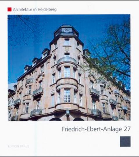 Friedrich-Ebert-Anlage 27. Architektur in Heidelberg.