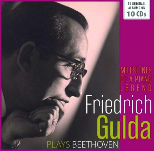 Friedrich Gulda plays Beethoven. 10 CDs.