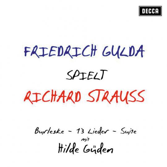 Friedrich Gulda spielt Richard Strauss. CD.