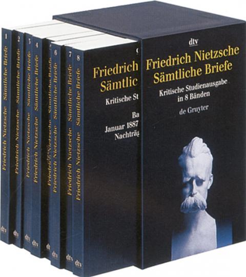 Friedrich Nietzsche. Sämtliche Briefe. Kritische Studienausgabe in 8 Bänden.