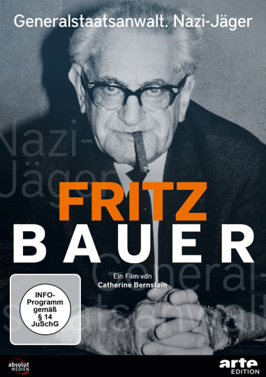 Fritz Bauer. Generalstaatsanwalt. Nazi-Jäger. DVD.