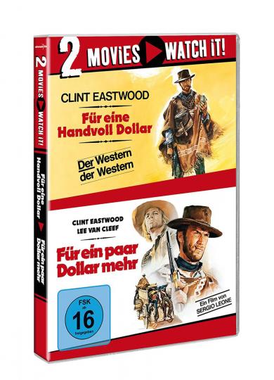 Für eine Handvoll Dollar / Für ein paar Dollar mehr 2 DVDs.