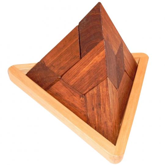 Geduldspiel »Klötzchenpyramide«