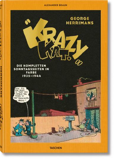 George Herrimans »Krazy Kat«. Die kompletten Sonntagsseiten in Farbe 1935-1944.