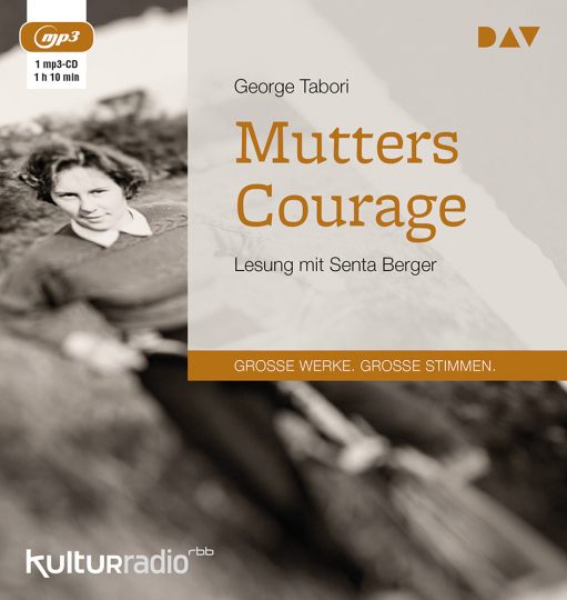 George Tabori. Mutters Courage. mp3-CD.