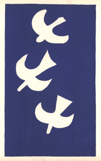 Georges Braque. Vögel 1.