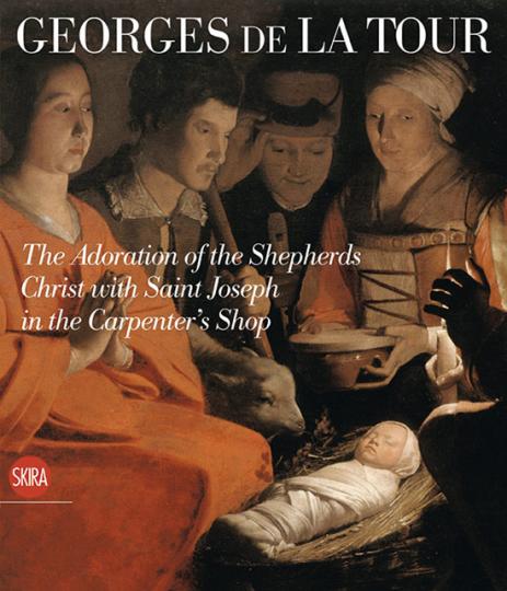 Georges de La Tour. Die Anbetung der Hirten. Joseph als Zimmermann.