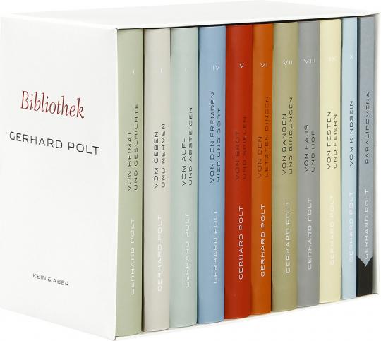Gerhard Polt Bibliothek. Werke in 10 Bänden.