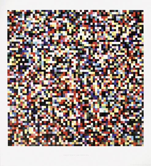 Gerhard Richter. 4096 Farben 359, 1974.