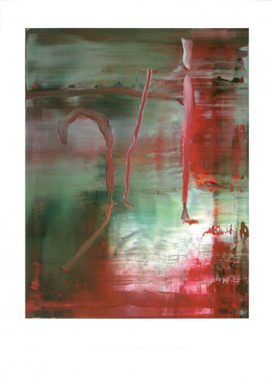 Gerhard Richter. Abstraktes Bild 889-5, 2004.
