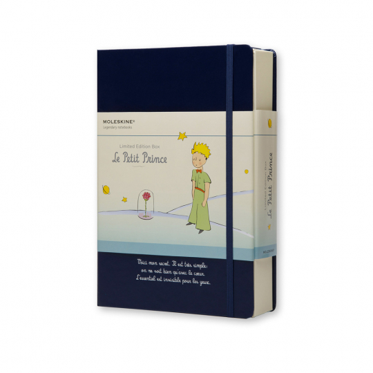 Geschenkbox »Kleiner Prinz« mit Notizheft, Karten u. a.