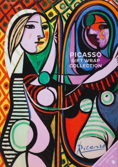Geschenkpapier Buch »Picasso«.