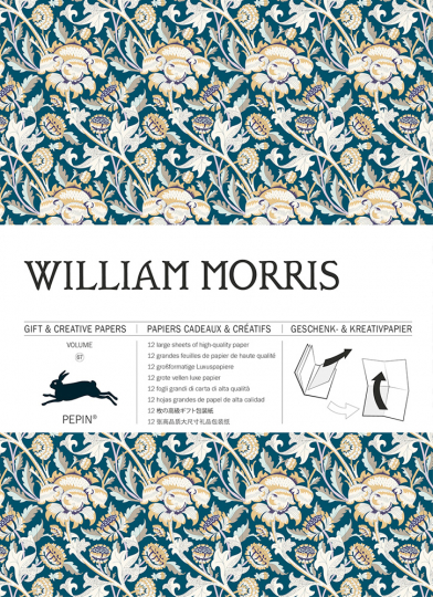 Geschenkpapier »William Morris«.