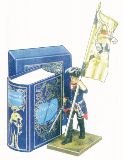 Geschichte Friedrich des Großen - Mini-Ausgabe im Schmuckschuber