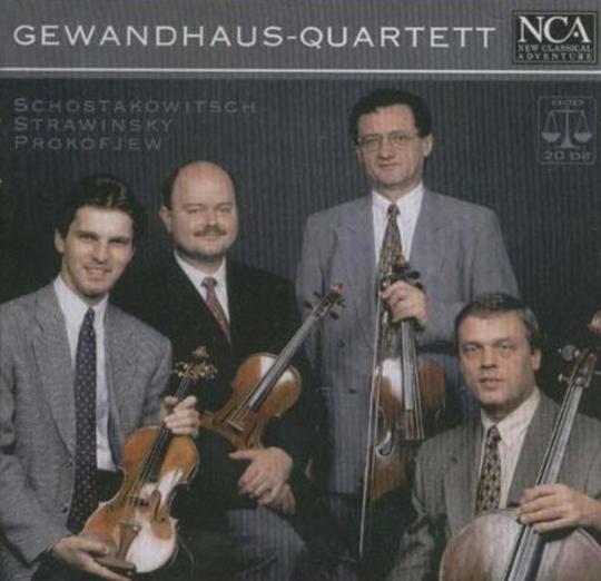 Gewandhaus Quartett. CD.