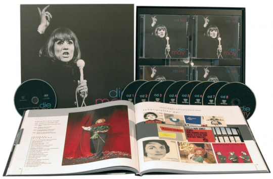 Gisela May. Die May. 8 CDs, 1 DVD.