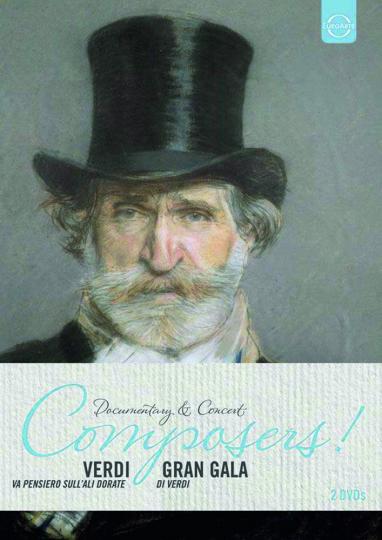 Giuseppe Verdi. Va Pensiero, Sull'Ali Dorate & Gran Gala di Verdi. 2 DVDs.