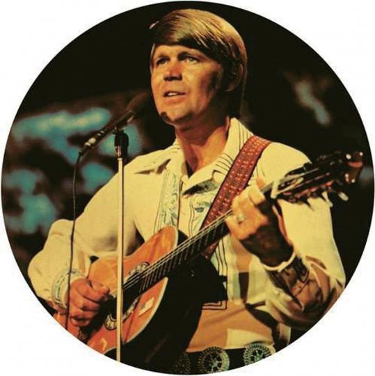 Glen Campbell. Rhinstone Cowboy Live. 1 Vinyl LP.