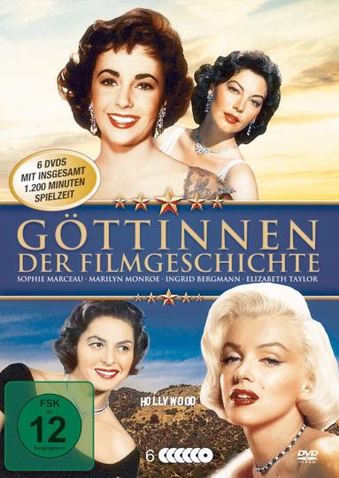 Göttinnen der Filmgeschichte 6 DVDs