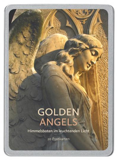 Golden Angels - Postkartenbuch