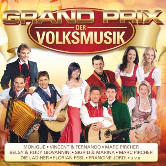Grand Prix der Volksmusik. 2 CDs.