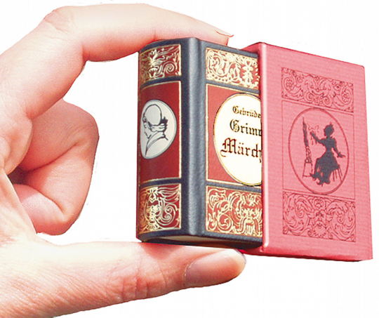 Grimm Märchen - Märchenhafte Leder-Mini-Ausgaben