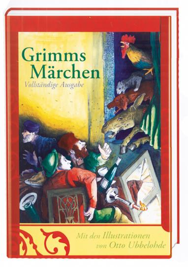 Grimms Märchen - Vollständige Ausgabe mit 444 Illustrationen von Otto Ubbelohde