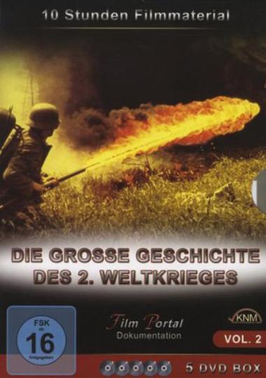 Grosse Geschichte 2. Weltkrieg -Teil 2 (5 DVD)