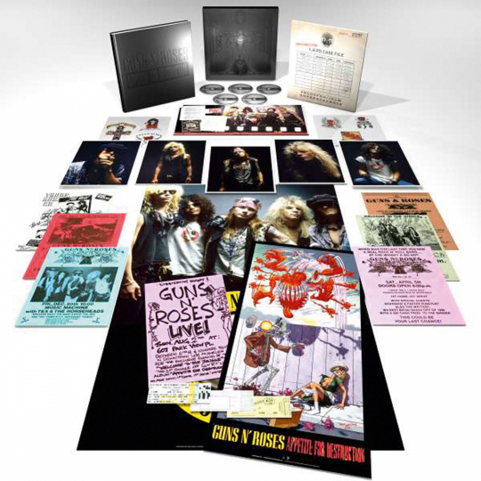 Guns N Roses. Appetite For Destruction (Super Deluxe Edition). 4 CDs, 1 Blu-ray Audio.
