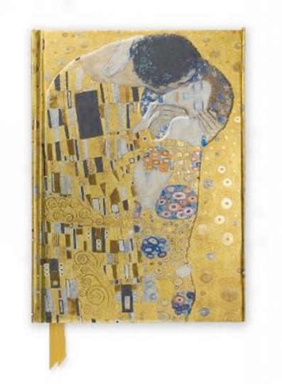 Notizbuch Gustav Klimt »Der Kuss«.