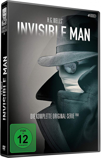 H.G. Wells' Invisible Man (Komplette Serie). 4 DVDs.