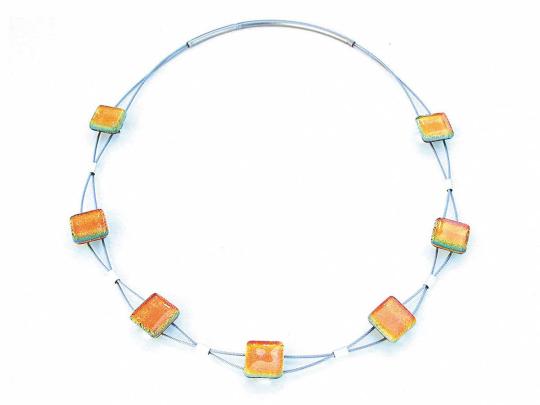 Halskette »Sinus«, gold.