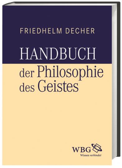 Handbuch der Philosophie des Geistes.