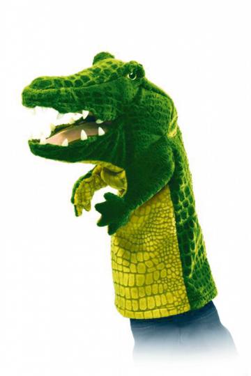 Handpuppe »Krokodi«l.