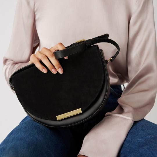 Handtasche »Selma«, schwarz.