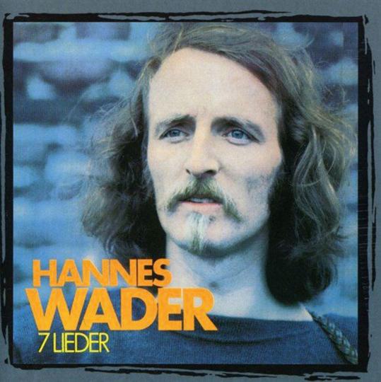 Hannes Wader. 7 Lieder. CD.