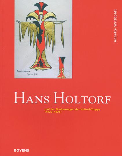 Hans Holtorf und der Maskenwagen der Holtorf-Truppe.