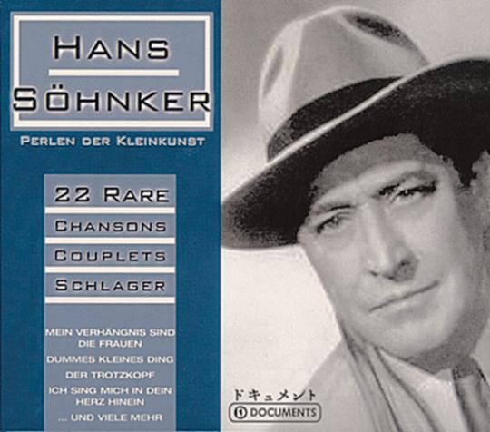 Hans Söhnker. Perlen der Kleinkunst. CD.