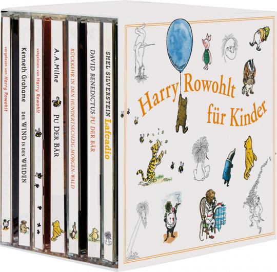 Harry Rowohlt für Kinder. 16 CDs.
