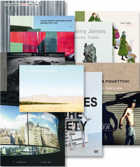 Hatje Cantz Paket 6. Kunst und Fotografie der Gegenwart. 10 Bände.