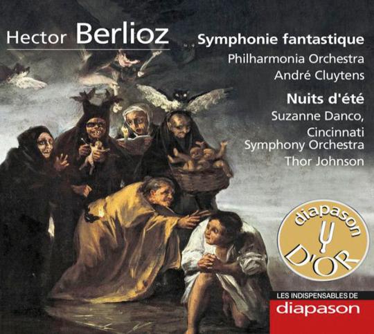 Hector Berlioz. Symphonie fantastique & Nuits d'été. CD.