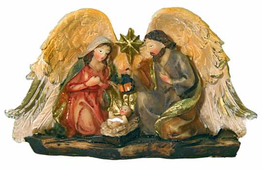 Dekoration »Heilige Familie«.