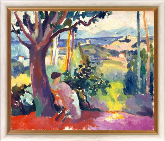 Henri Manguin (1874-1949). Die Mahlzeit in der Villa Demière (1905).