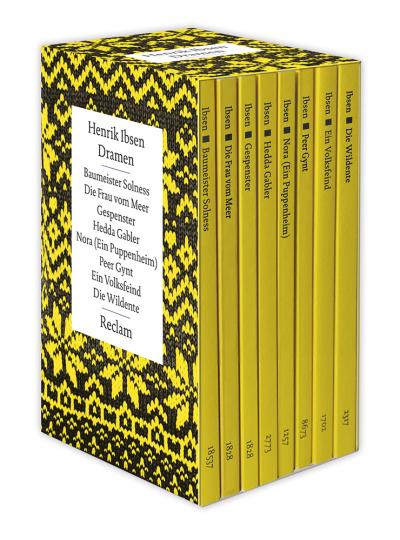 Henrik Ibsen. Dramen. 8 Bände.