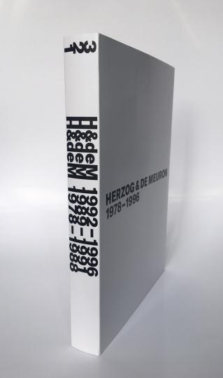 Herzog & de Meuron 1978-1996. 3 Bände.