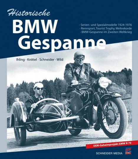 Historische BMW-Gespanne - Serien- und Spezialmodelle 1924-1976